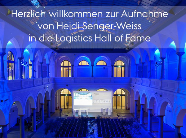 Heidi Senger-Weiss inducted into the Logistics Hall of Fame at the Federal Ministry of Transport and Digital Infrastructure