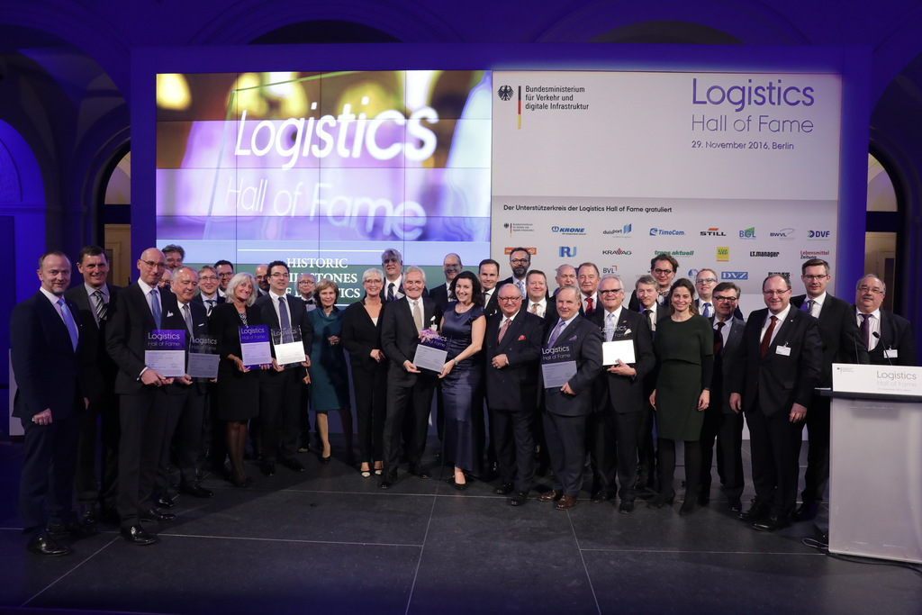 Standing Ovations for the Milestones in Logistics History