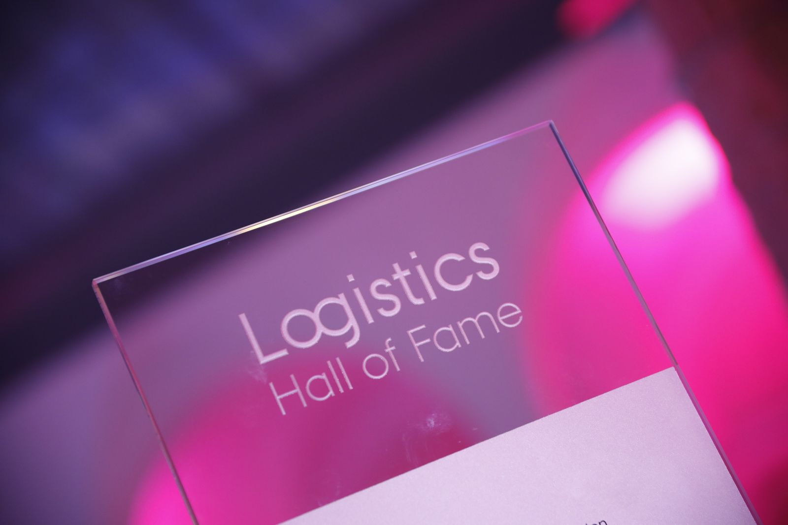 Logistics Hall of Fame starts with a new proposal phase