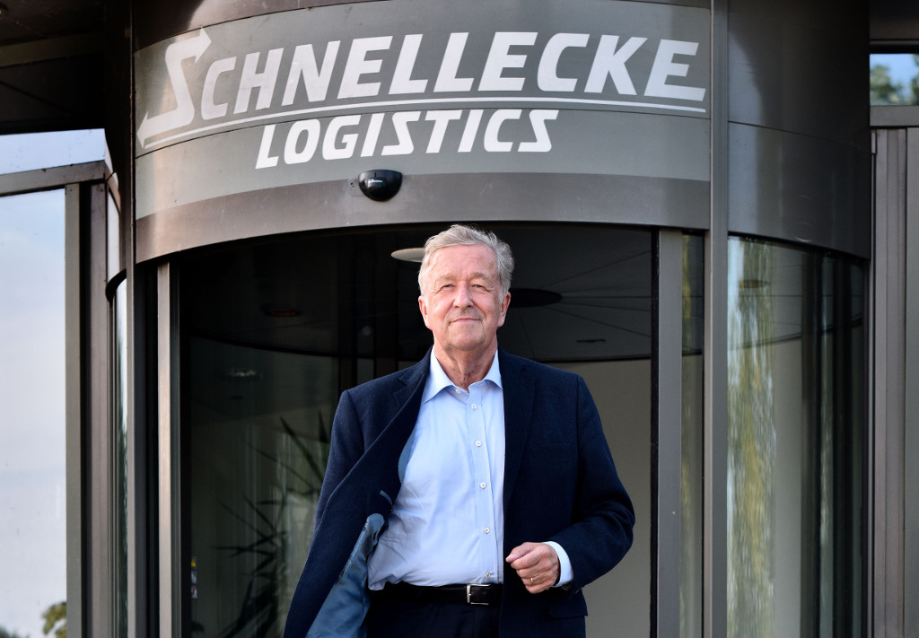 Rolf Schnellecke - Member of the Logistics Hall of Fame 2018